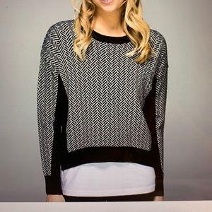 Lululemon Chevron Marino Wool Sweater